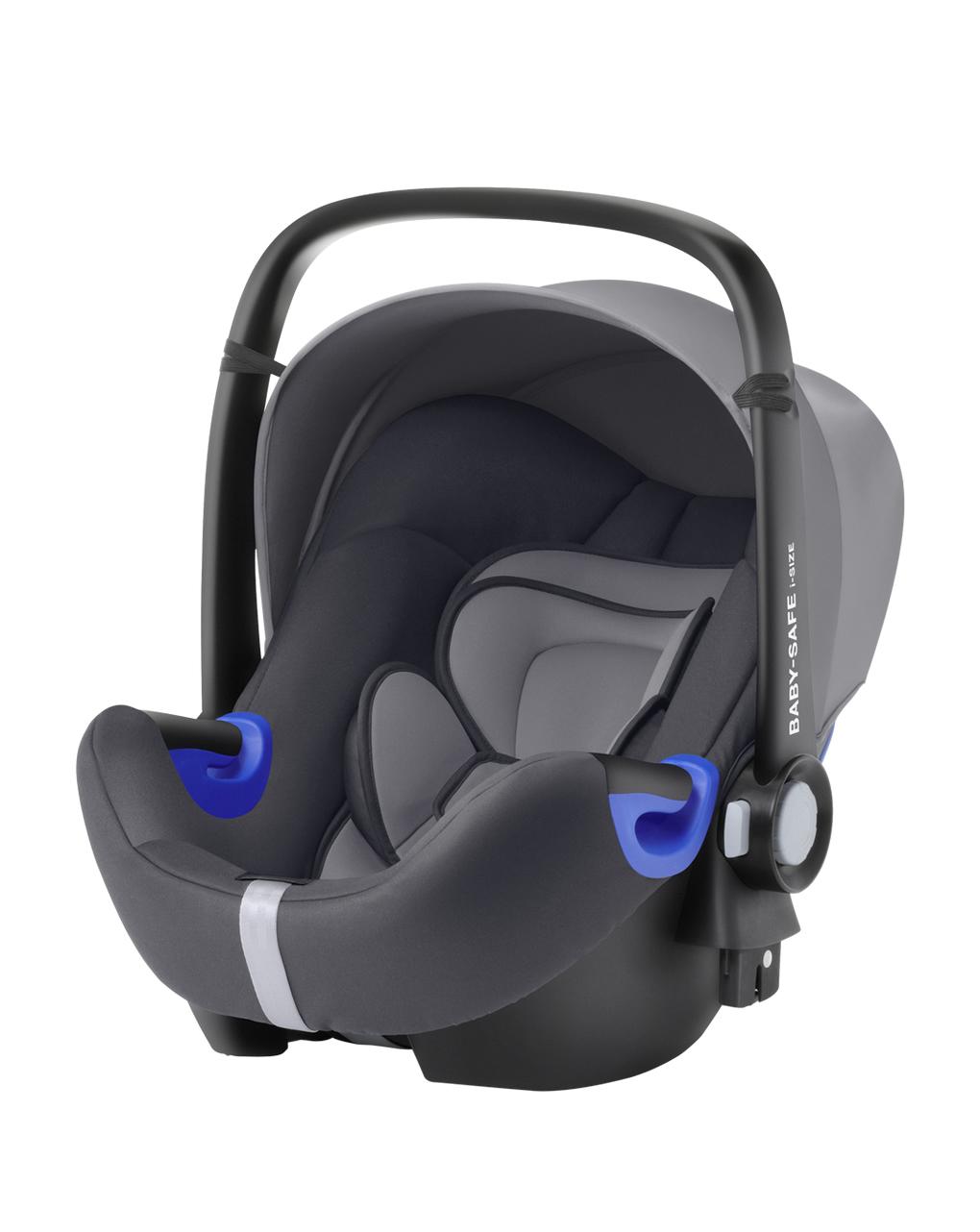 Baby safe i-size storm grey + base safe i-size flex - Britax Romer