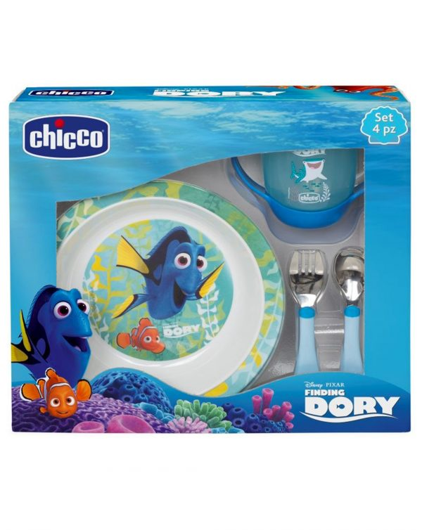 Set pappa Finding Dory azzurro 18m+ - Chicco