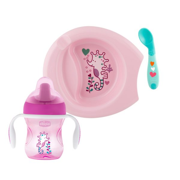 SET PAPPA 6M+ GIRL - Chicco