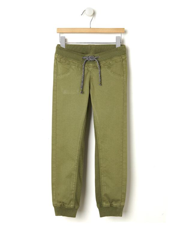 Pantaloni in cotone verde militare - Prénatal