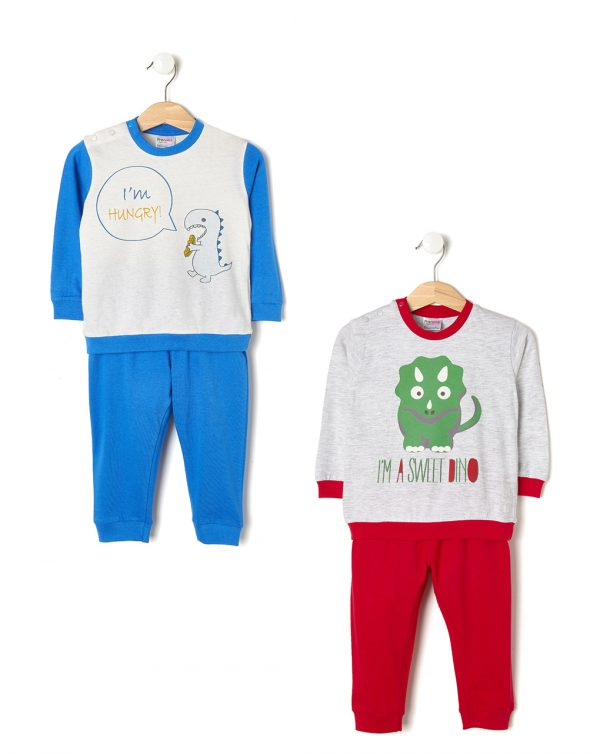 Pack 2 pigiami con dinosauri - Prénatal