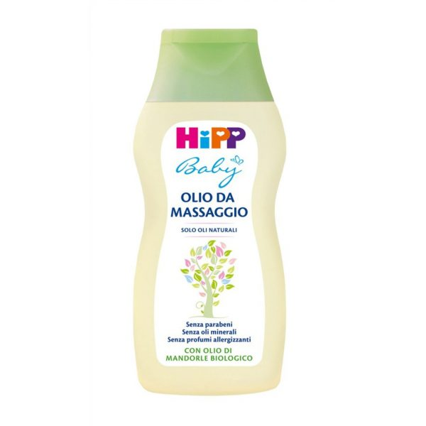 Olio da massaggio 200ml - Hipp Baby