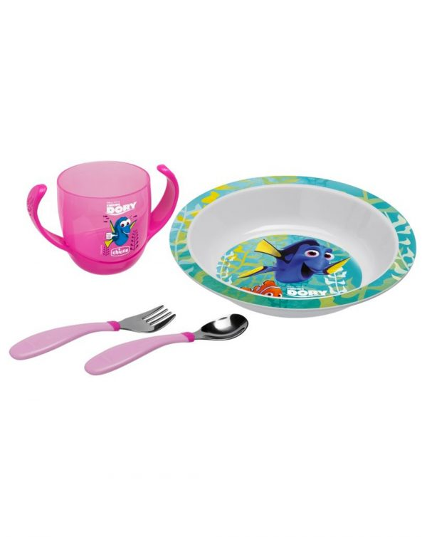 Set pappa Finding Dory rosa 18m+ - Chicco