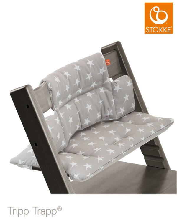 Tripp Trapp® Cuscino - grey star - Stokke