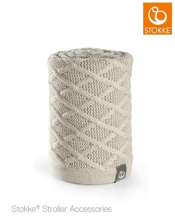 Stokke® Passeggino Copertina - cable cream - Stokke