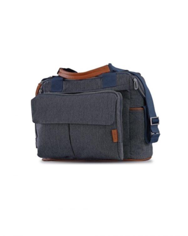 Borsa dual bag Trology village denim - Inglesina