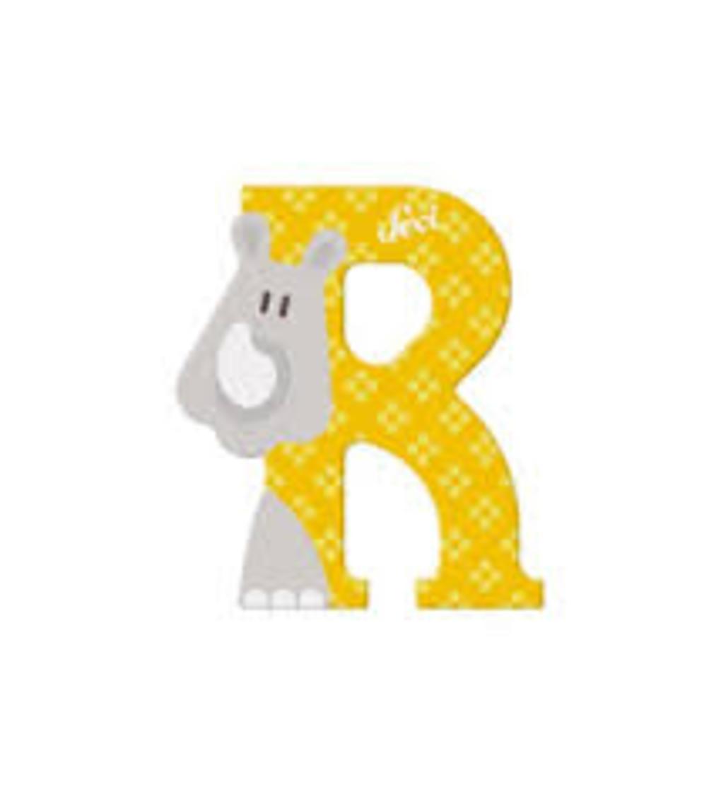 Lettera r rinoceronte - Sevi