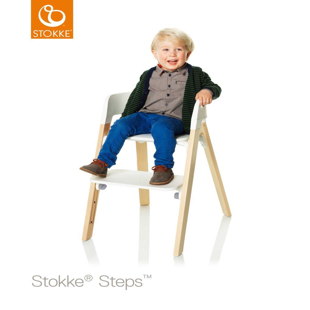 Seduta Stokke® Steps™ Sedia - bianca - Prénatal Store Online