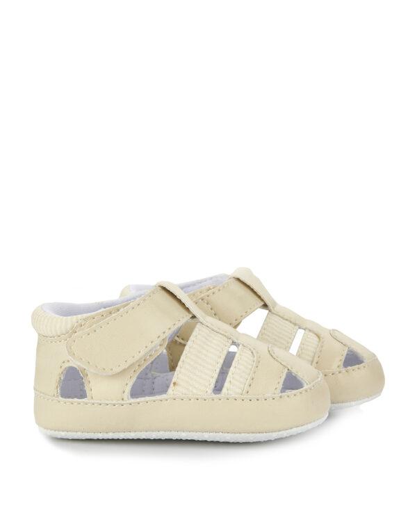Scarpe sandaletto in similpelle panna - Prénatal