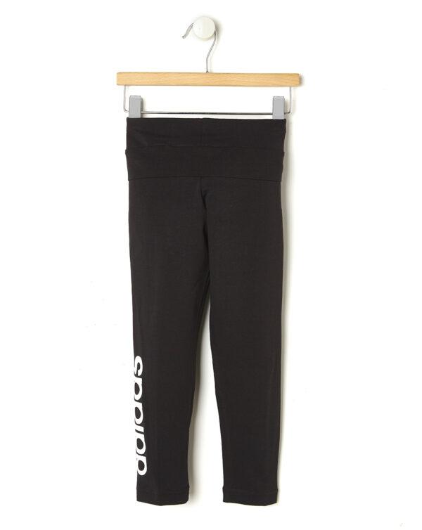 Leggings neri con Adidas in bianco - Prénatal