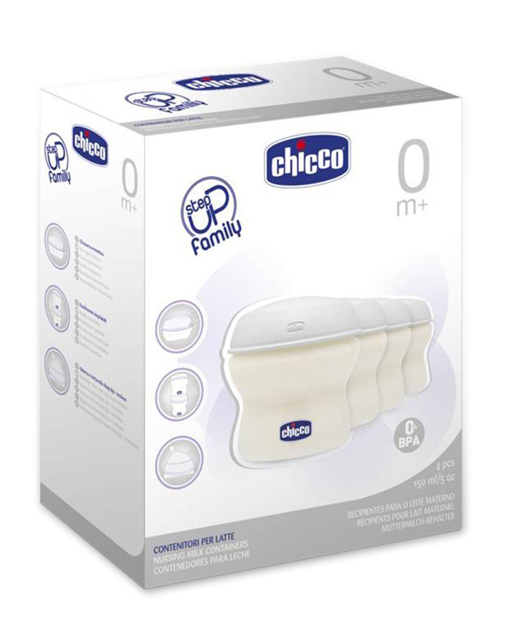 Contenitore latte step up new - Chicco