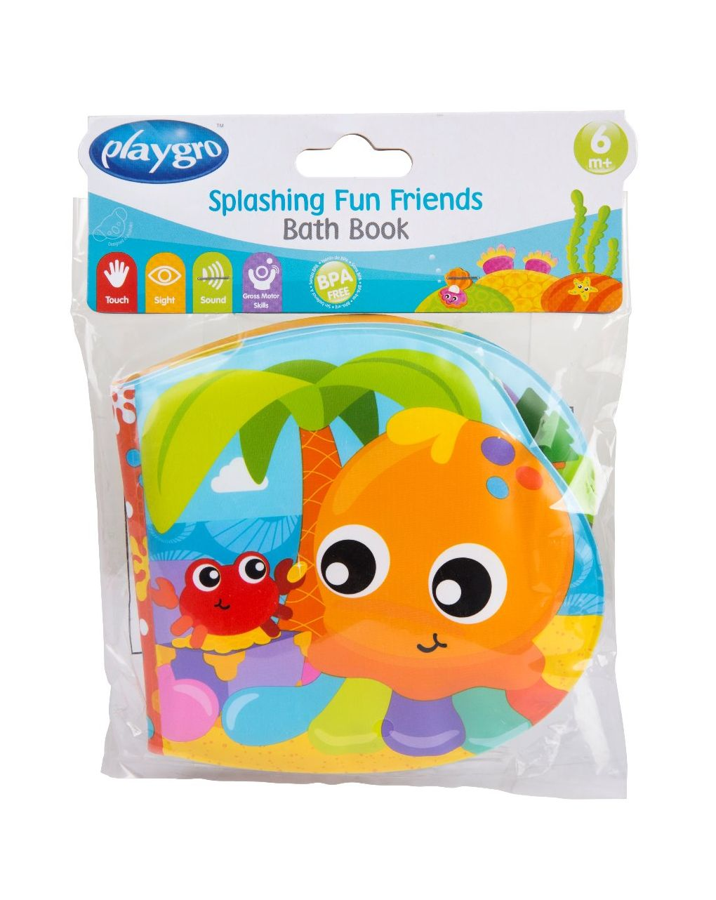 Splashing fun friends bath book - Playgro
