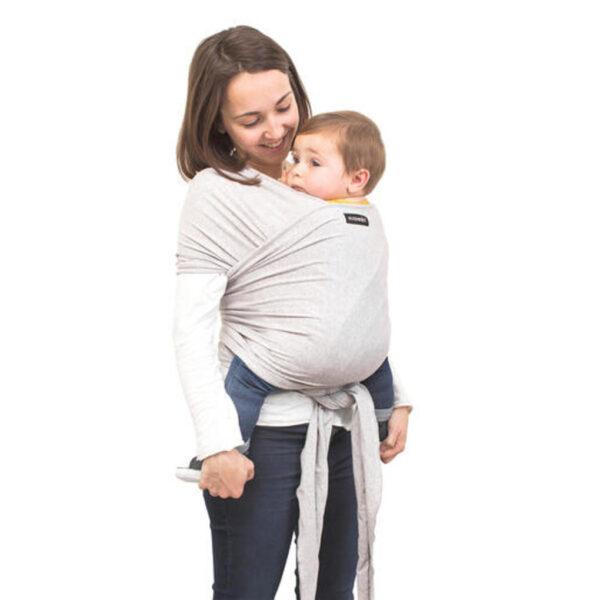 Fascia porta bebè grigia - Suavinex