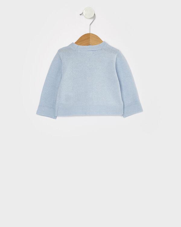 Cardigan in tricot azzurro - Prénatal