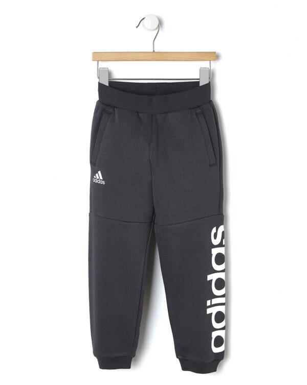 Pantaloni in felpa grigio scuro Adidas - Prénatal
