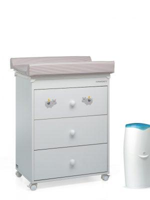 Cassettiere In Plastica Per Bambini.Cassettiere Fasciatoio Prenatal Store Online