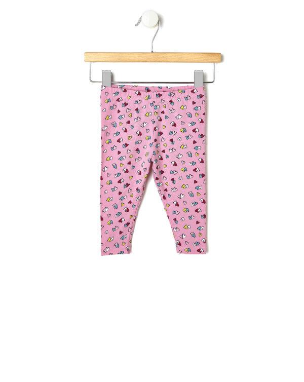 Leggings rosa con cuoricini - Prénatal