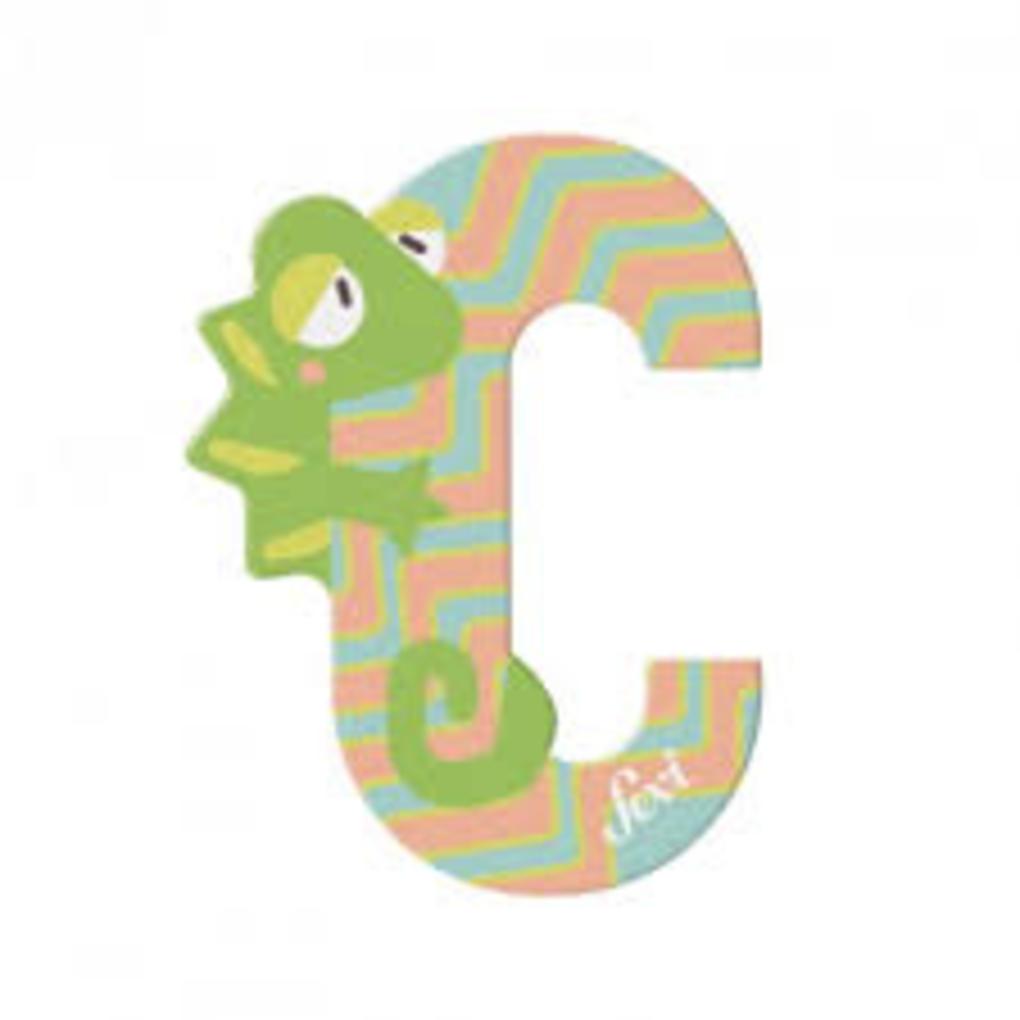 Lettera c camaleonte - Sevi