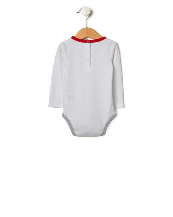 Completo con body e pantaloni con scritte - Prénatal