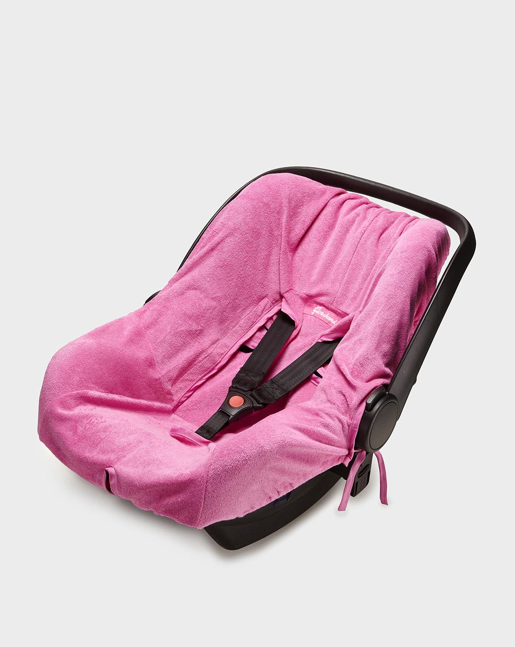 Copriseggiolino auto in spugna rosa gr.0+ - Giordani