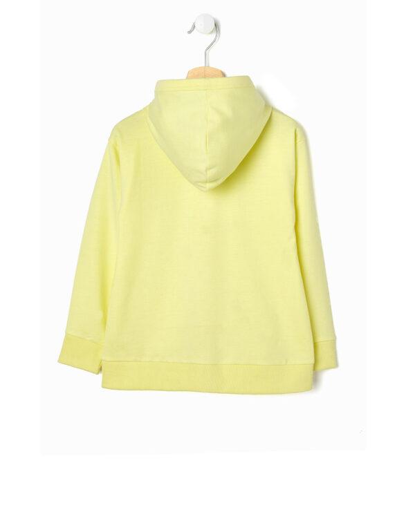 Cardigan giallo chiaro con scritta LOVE - Prénatal