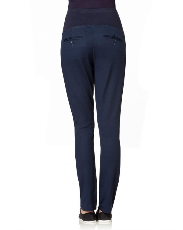 Pantaloni blu scuro con tasche - Prénatal