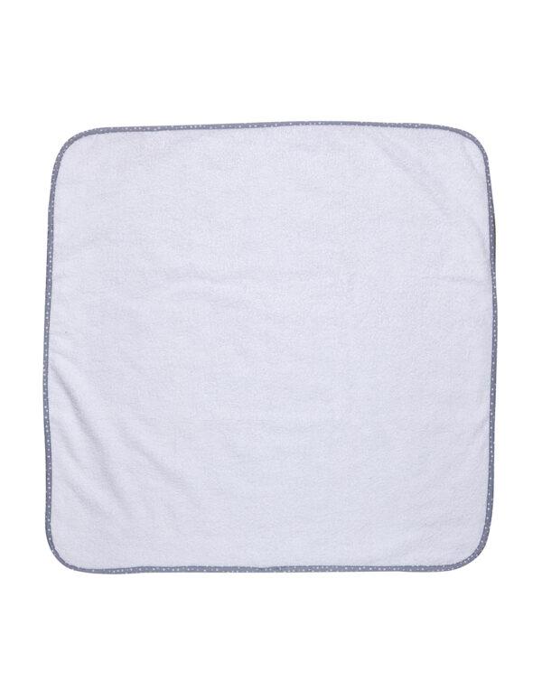 Pack 2 asciugamani in spugna bianca con bordi stelline - Prénatal