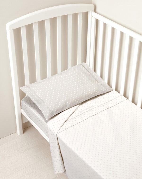 Completo per letto azzurro con stelline bianche e azzurre - Prénatal