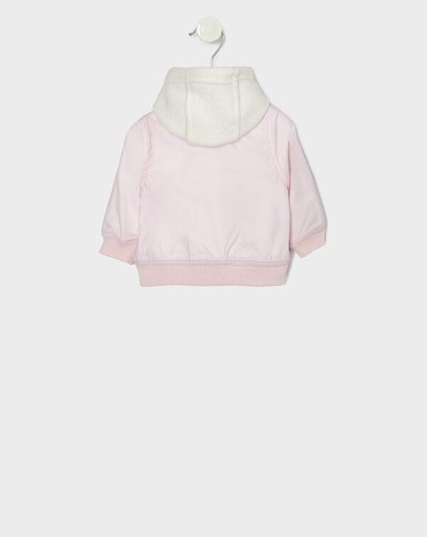 Giubbino doppio staccabile in nylon rosa - Prénatal