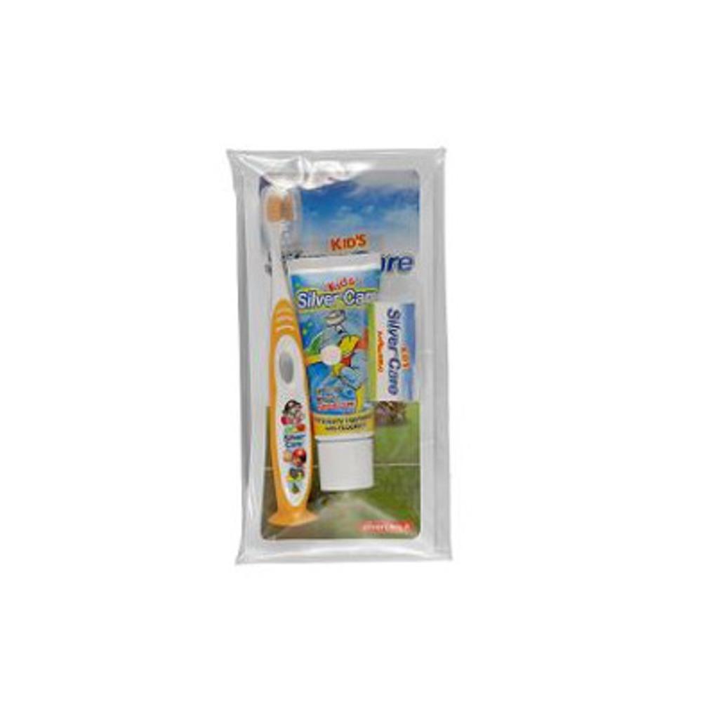 Kids brush kit - spazzolino dentifricio - Silver Care