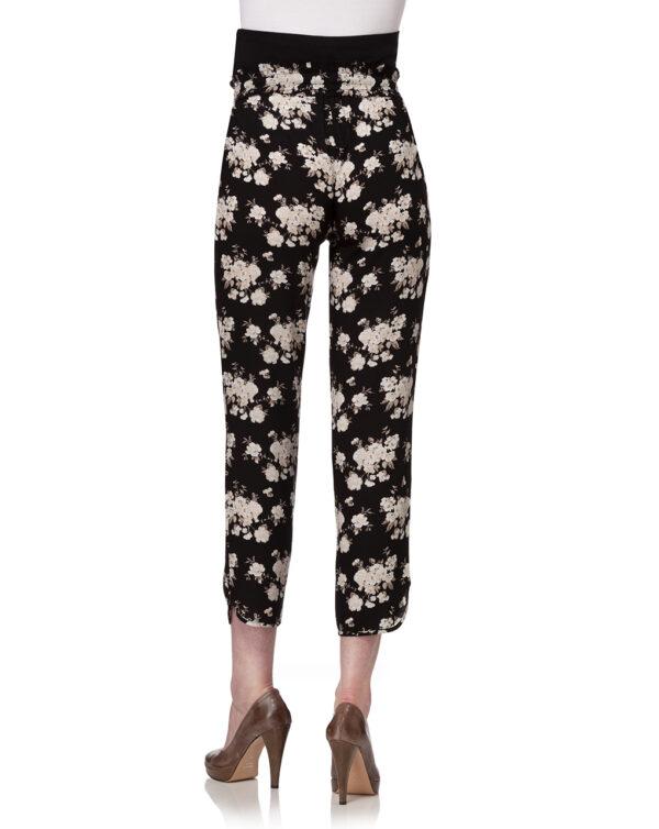 Pantalone con stampa all-over floreale - Prénatal