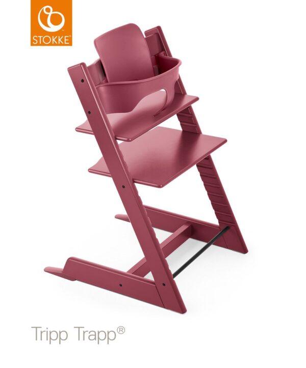 Stokke® Baby Set per Tripp Trapp® - heather pink - Stokke