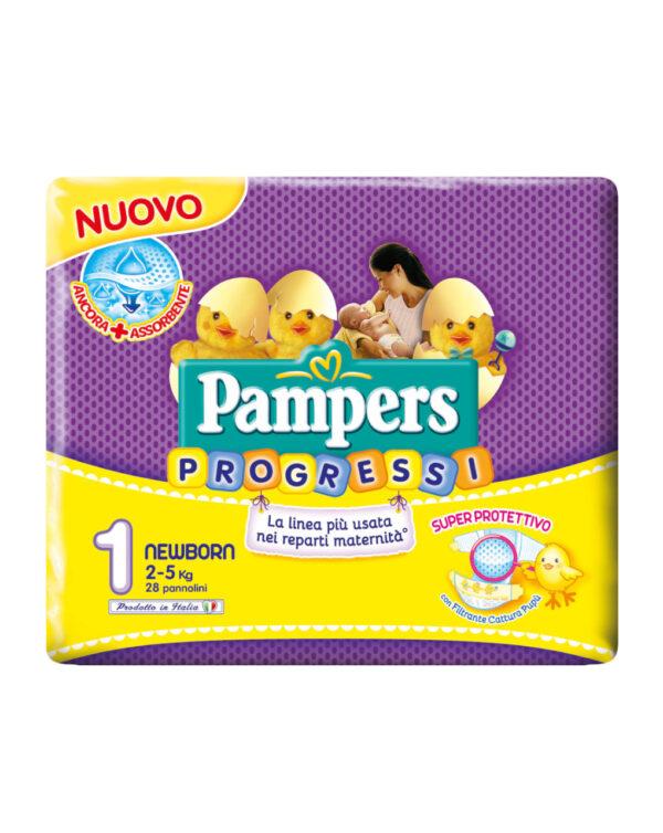 Pannolino Progressi tg. 1 (28 pz) - Pampers