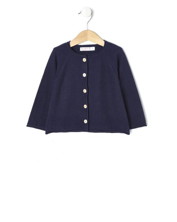 Cardigan in tricot con bottoni effetto legno - Prénatal