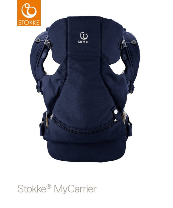 Stokke® MyCarrier™ Marsupio anteriore e posteriore - deep blue - Stokke