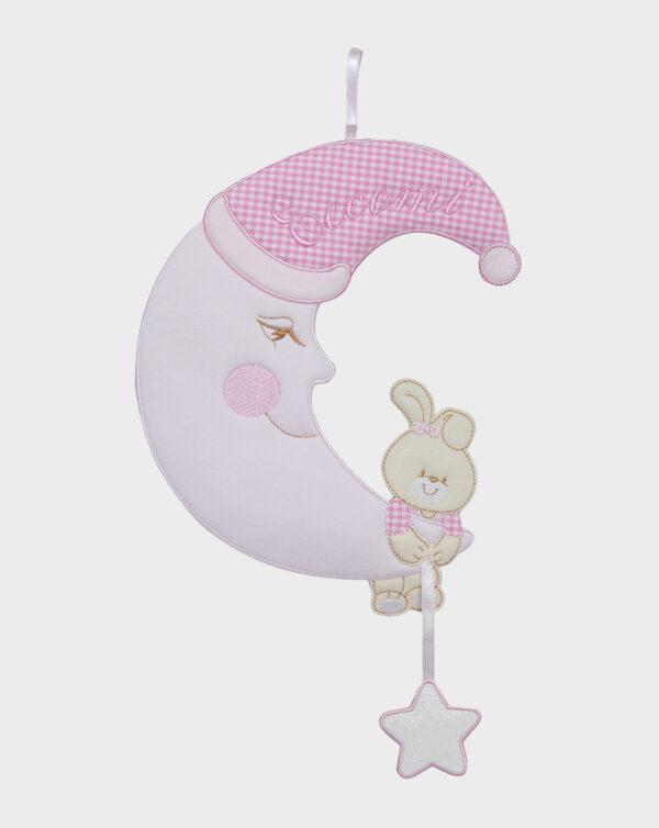 Fiocco nascita con luna femmina - Prénatal