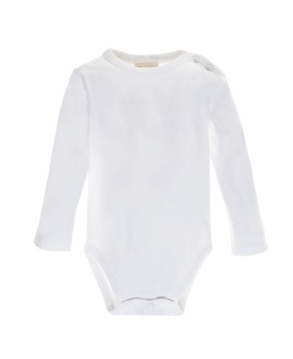 Body bianco a manica lunga - Prénatal