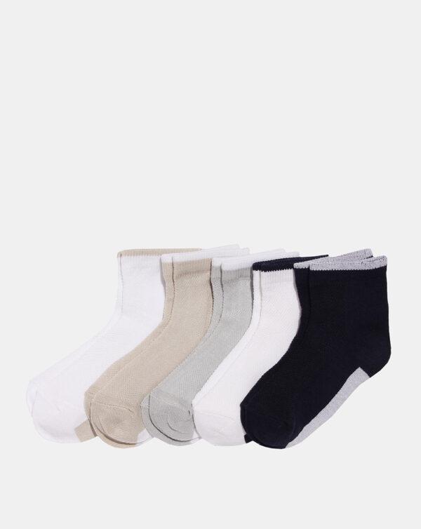 Pack 5 paia di calze corte bambino multicolor - Prénatal