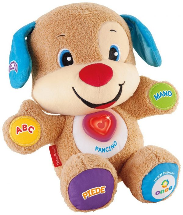 FISHER PRICE - CAGNOLINO SMART STAGES RIDI E IMPARA - Fisher-Price