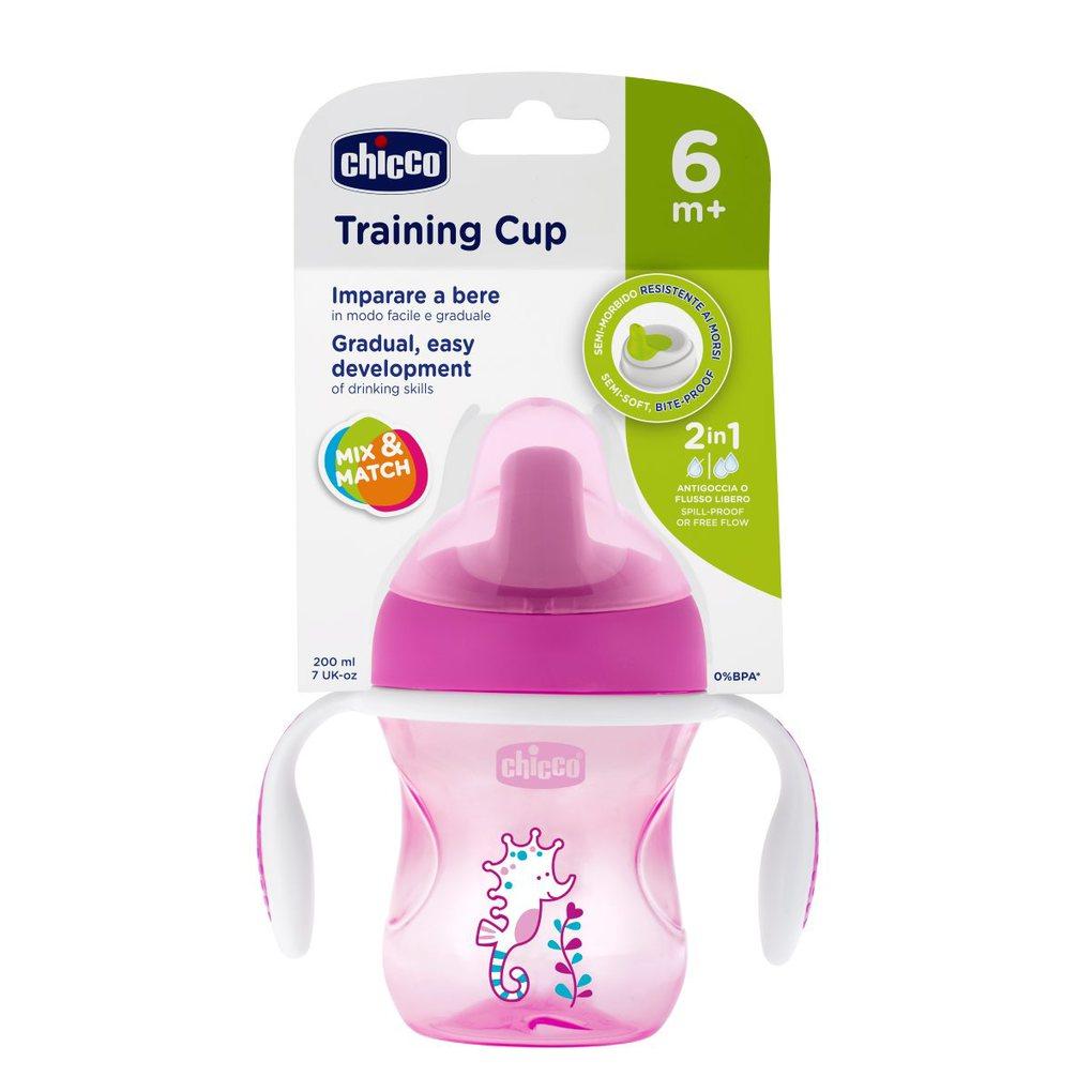 Tazza training rosa 6m+ pack1 - Chicco