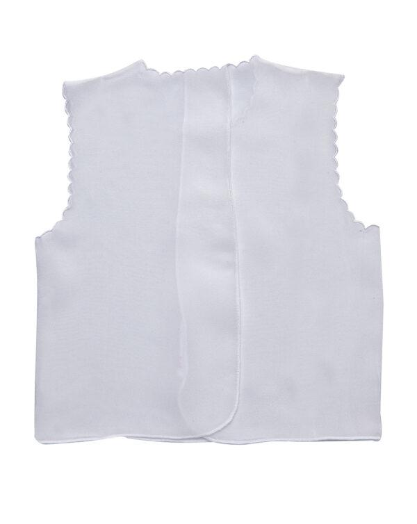 Camicino in seta bianco con scritta Bebe - Prénatal