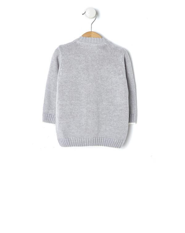 Cardigan in tricot grigio chiaro mélange - Prénatal