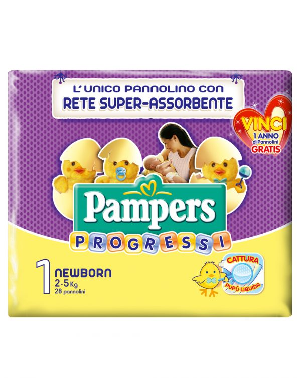 Pampers progressi Newborn (2-5 kg) - Pampers