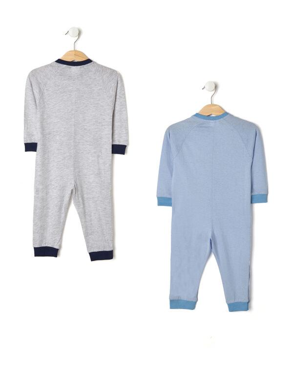 Pack 2 pigiamoni con foca e pinguino - Prénatal