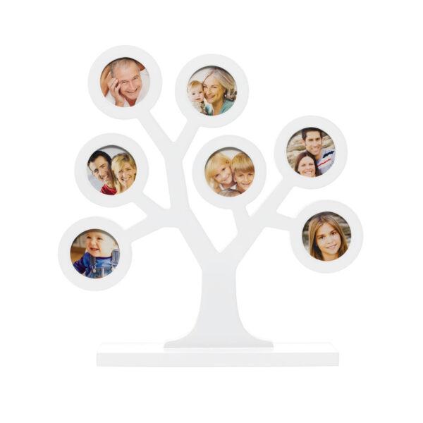 Cornice albero genealogico bianco - Prénatal