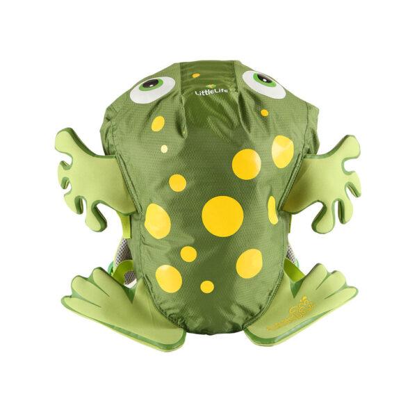 Zaino impermeabile rana verde - Little Life
