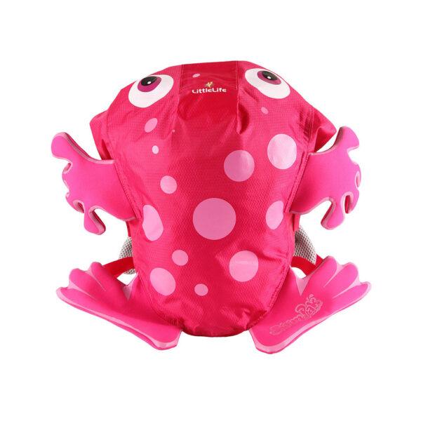 Zaino impermeabile rana rosa - Little Life