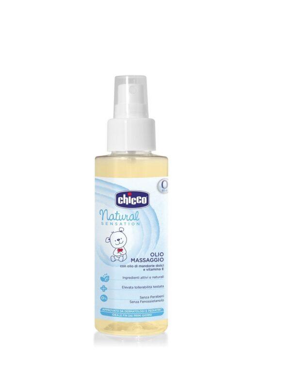Olio Massaggio 100ml Spray Natural Sensation - Chicco
