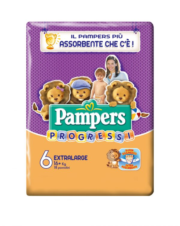 Pampers Progressi - Extralarge (16Kg+) - Prénatal