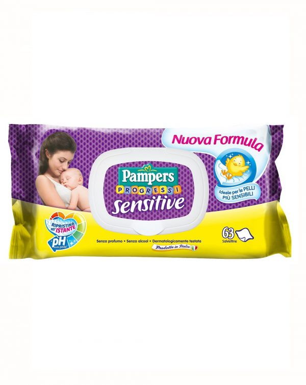 Salviettine Pampers Sensitive - Pampers